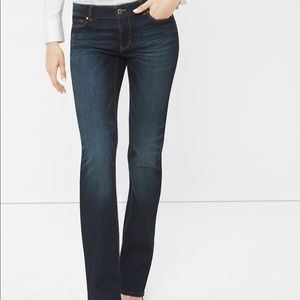 white house black market slim boot jeans
